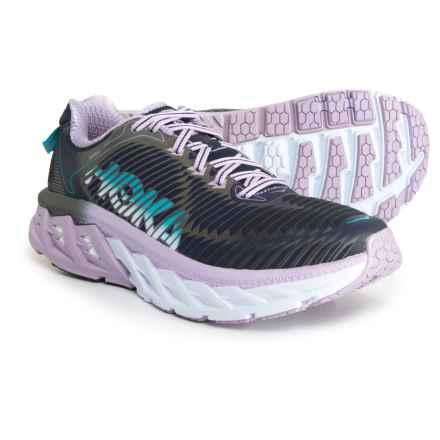 Hoka One One Arahi Running Shoes (For Women) in Medieval Blue/Lavendar - Closeouts