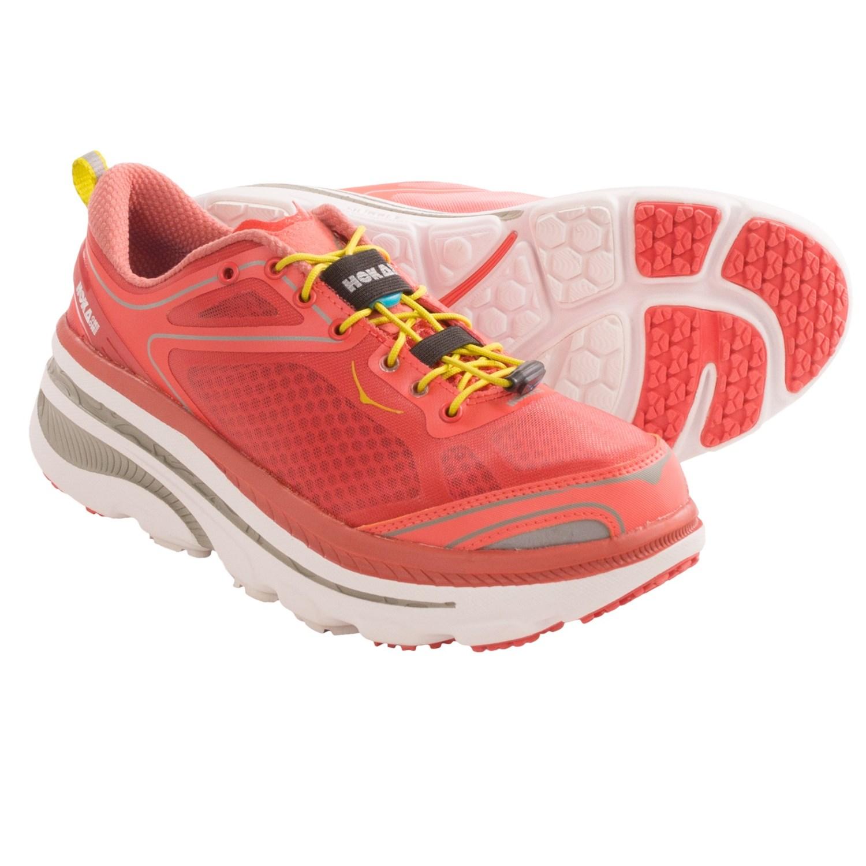 Cushioned Neutral Running Shoes Women ~ Hoka One One Bondi 3 Road