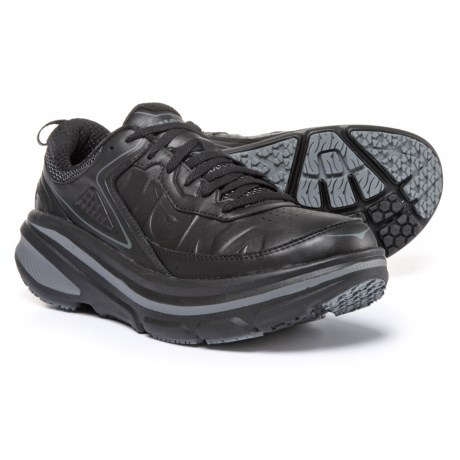 Hoka One One Bondi LTR Walking Shoes (For Women) in Black