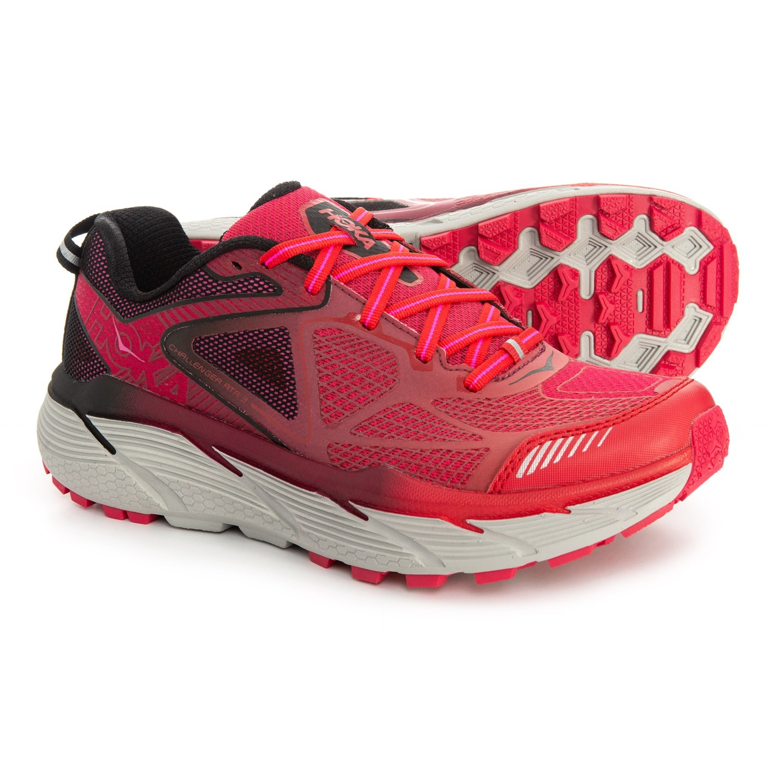 Hoka One One Challenger ATR 3 Trail Running Shoes (For Women) in Neon  Fuchsia 6c07d537c78