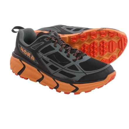 Hoka One One Challenger ATR Trail Running Shoes (For Men) in Black/Burnt Orange - Closeouts