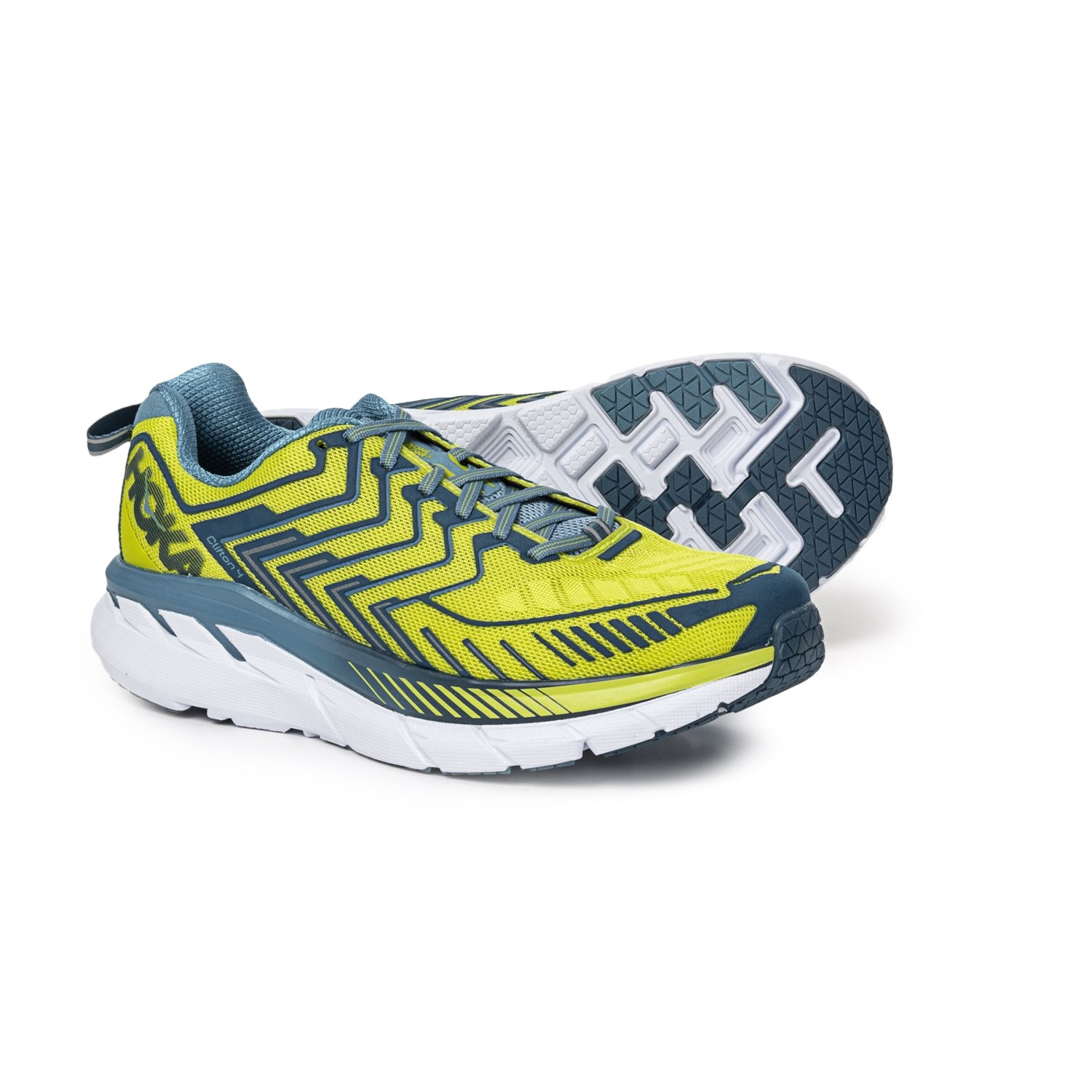 405c83d7ab67 Hoka One One Clifton 4 Running Shoes (For Men) in Sulphur Spring Midnight
