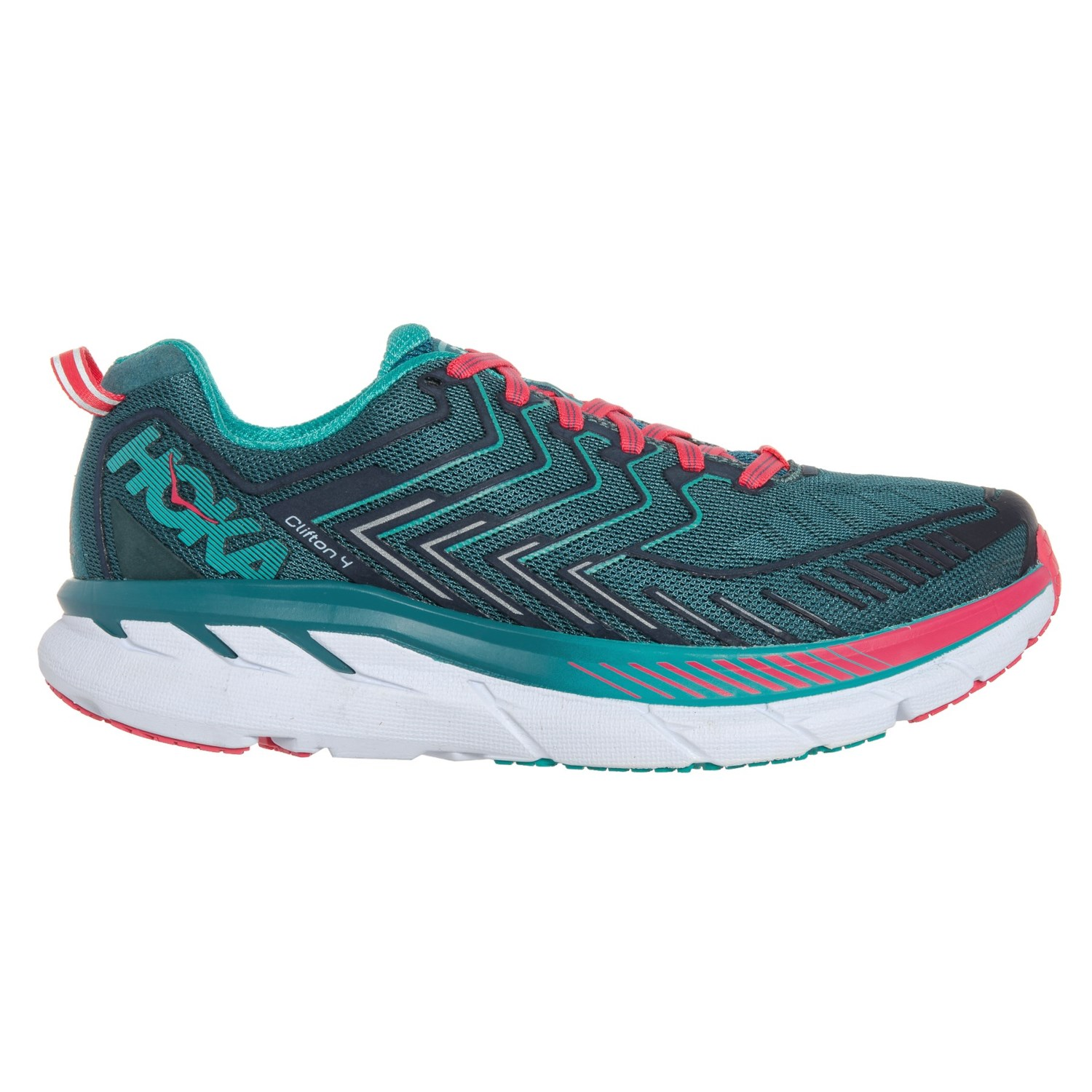 Hoka One One Clifton 4 Running Shoes (For Women) - Save 44% efb71436b