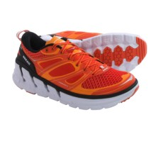 Hoka One One Conquest 2 Running Shoes (For Men) in Orange Flash/Persimmon/White - Closeouts