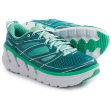 Hoka One One Conquest 2 Running Shoes (For Women) in Colonial Blue/Mint Leaf - Closeouts