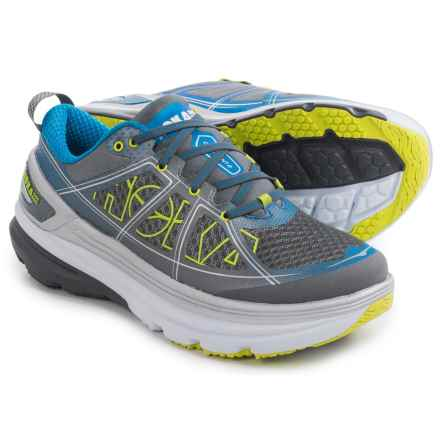 Hoka One One Constant 2 Running Shoes (For Men) in Grey/Directoire Blue - Closeouts