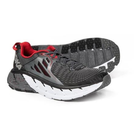 Hoka One One Gaviota Trail Running Shoes (For Men) in Black Formula One d327d6d12