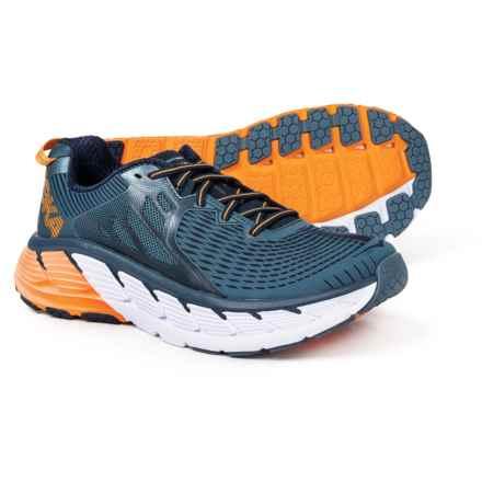 Hoka One One Gaviota Trail Running Shoes (For Men) in Bluestone/Black Iris - Closeouts