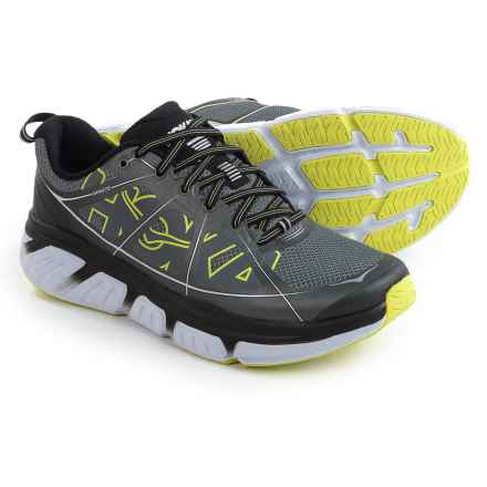 Hoka One One Infinite Running Shoes (For Men) in Grey/Citrus - Closeouts