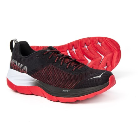 e0fce4d88445 Hoka One One Mach Running Shoes (For Men) in Black White - Closeouts