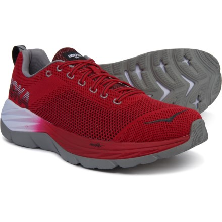 4913996e57a71 Hoka One One Mach Running Shoes (For Men) in Racing Red Black -
