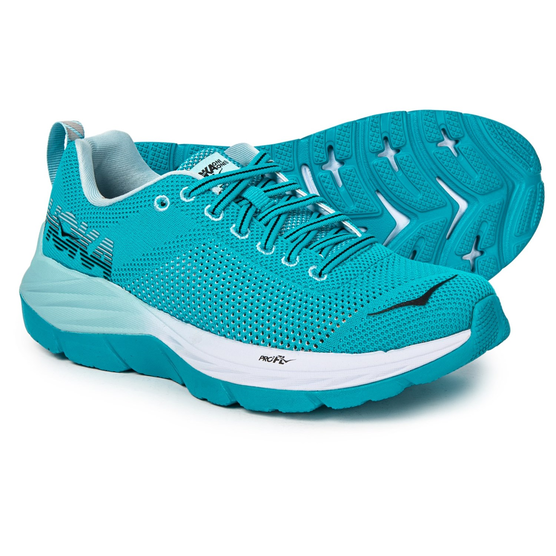 e223c8ab578b Hoka One One Mach Running Shoes (For Women) in Blue Bird White