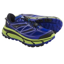 Hoka One One Mafate Speed Trail Running Shoes (For Men) in Blue/Lime/Black - Closeouts