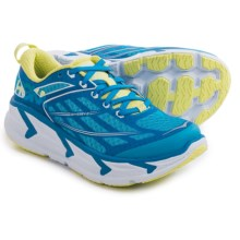 Hoka One One Odyssey 2 Running Shoes (For Women) in Dresden Blue/Sunny Lime - Closeouts