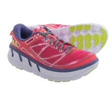 Hoka One One Odyssey Running Shoes (For Women) in Paradise Pink/Cordsican - Closeouts