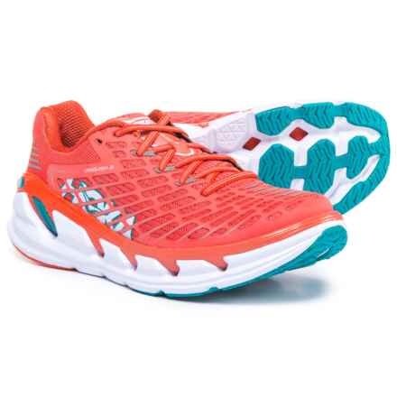 Hoka One One One One Vanquish 3 Running Shoes (For Women) in Dubarry/Grenadine - Closeouts