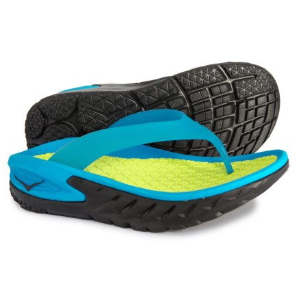 eead6cddc46a Hoka One One Ora Recovery Flip-Flops (For Women) in Black Process