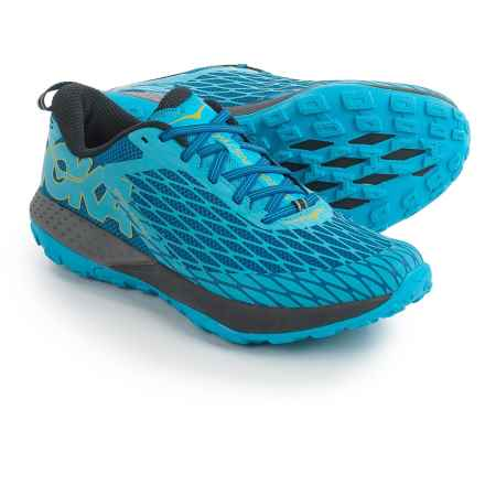 Hoka One One Speed Instinct Trail Running Shoes (For Men) in True Blue/ Dresden Blue - Closeouts