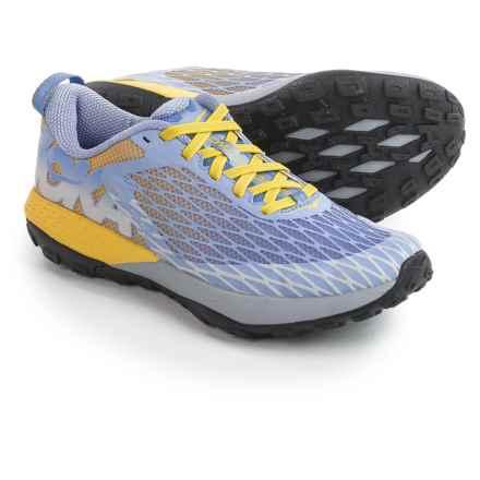 Hoka One One Speed Instinct Trail Running Shoes (For Women) in Ultramarine/Aurora - Closeouts