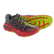 Hoka One One Speedgoat Trail Running Shoes (For Men) in Bright Red/Black - Closeouts