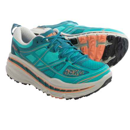 Hoka One One Stinson 3 ATR Trail Running Shoes (For Women) in Aqua/Colonial Blue - Closeouts