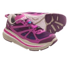 Hoka One One Stinson Lite Running Shoes (For Women) in Fushia/Plum/Grey - Closeouts