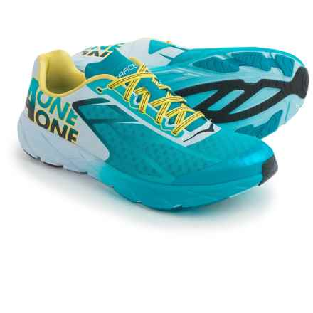 Hoka One One Tracer Running Shoes (For Men) in Cyan/Black - Closeouts