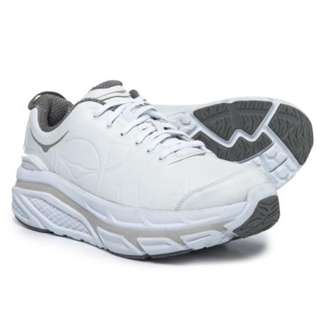 Hoka One One Valor LTR Walking Shoes (For Men) in White