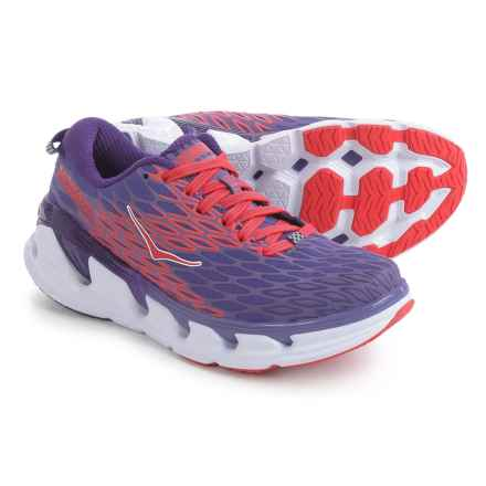 Hoka One One Vanquish 2 Running Shoes (For Women) in Corsican Blue/Poppy Red - Closeouts