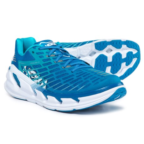 Hoka One One Vanquish 3 Running Shoes (For Men) in Medieval Blue/Blue