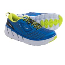Hoka One One Vanquish Running Shoes (For Men) in Directoire Blue/Citrus - Closeouts