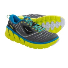 Hoka One One Vanquish Running Shoes (For Men) in Grey/Cyan - Closeouts