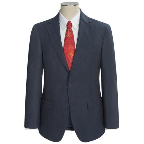Holbrook Stripe Suit (For Men) in Navy/Light Blue
