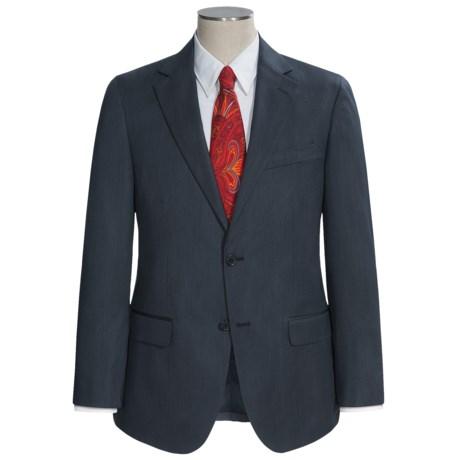 Holbrook Stripe Suit (For Men) in Charcoal