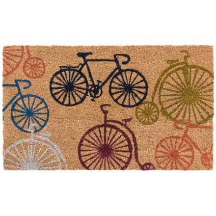 "Home and More Bicycle Doormat - 17x29"", Coir in Bicycles - Closeouts"