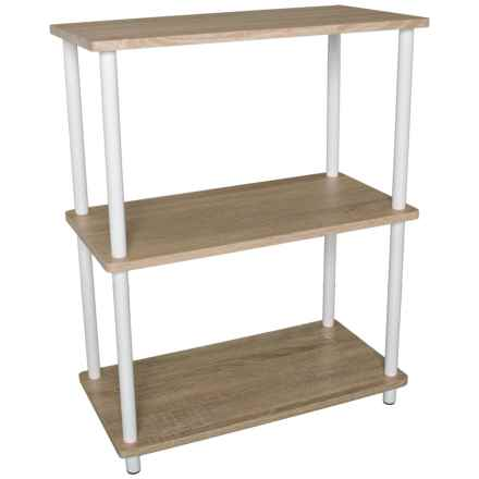 Home Basics 3-Tier Bamboo Shelf in Natural - Closeouts