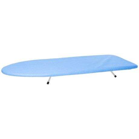 Home Basics Sunbeam Ironing Board Table in Blue