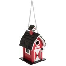 Home Bazaar Barn Birdhouse in Red - Overstock