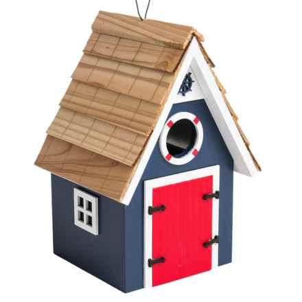 Home Bazaar Dockside Birdhouse in Blue - Closeouts