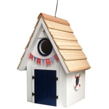 Home Bazaar Dockside Birdhouse in White - Closeouts