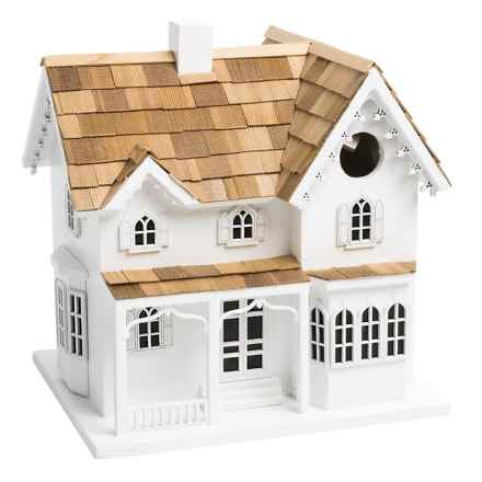 Home Bazaar Farmhouse Birdhouse in White - Closeouts