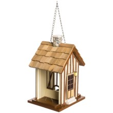 Home Bazaar Hamlet Bird Feeder in Natural/Brown - Closeouts