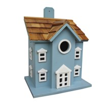 Home Bazaar Hamlet Birdhouse in Blue - Closeouts