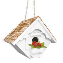 Home Bazaar Little Wren Birdhouse in White - Closeouts