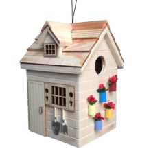 Home Bazaar Potting Shed Birdhouse in Natural - Closeouts