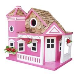 Home Bazaar Sea Cliff Birdhouse in Honeysuckle