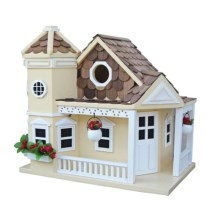 Home Bazaar Sea Cliff Birdhouse in Yellow - Closeouts
