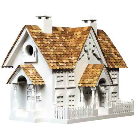 Home Bazaar Wrension Birdhouse in White - Closeouts