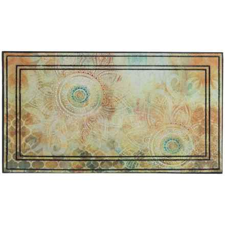"Home Dynamix All-Season Indoor/Outdoor Accent Rug - 19.6x35.4"" in Boho Study Floral - Overstock"