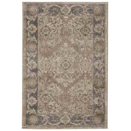 """Home Dynamix Antiqua Interlocking Collection Accent Rug - 31.5x47"""" in Beige/Gray - Closeouts"""